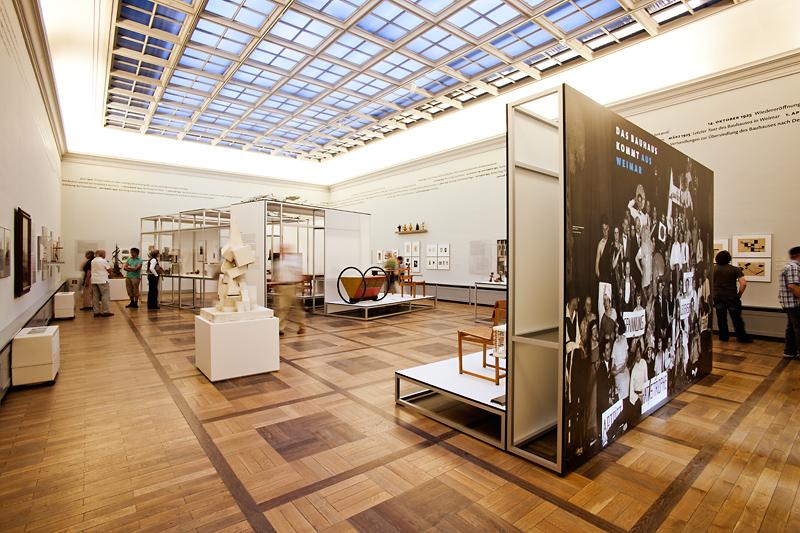 Bauhaus-Museum Weimar: Blick in die Ausstellung