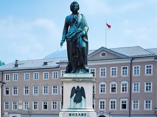 Salzburg Staute of Mozart