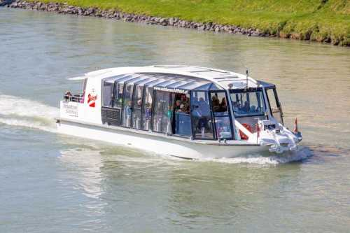 Salzburg Sightseeing cruise on the river Salzach