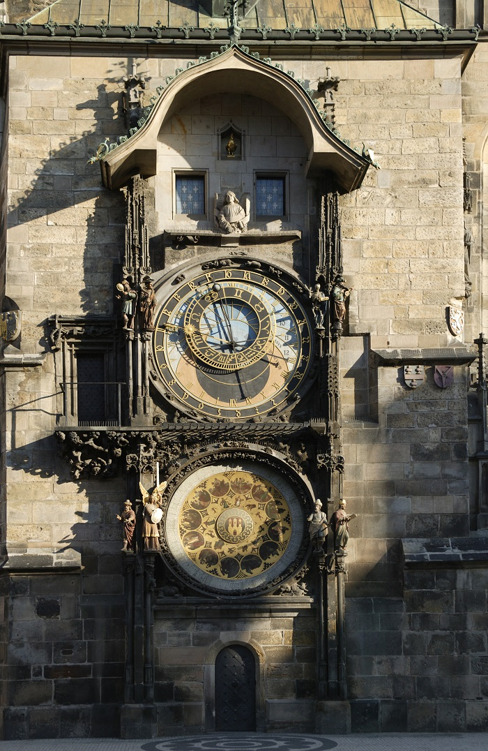 Astronomical Clock in the heart of the Old Town of Prague