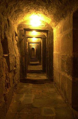 Felsenkeller Nürnberg - Blick in die unterirdischen Gänge
