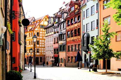 Ideal für Gruppenaktivitäten und Gruppenangebote in Nürnberg: Nürnberger Altstadt