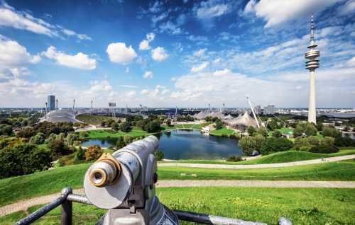 Gruppenausflug und Gruppenticket in München: München Olympiapark (Shutterstock)