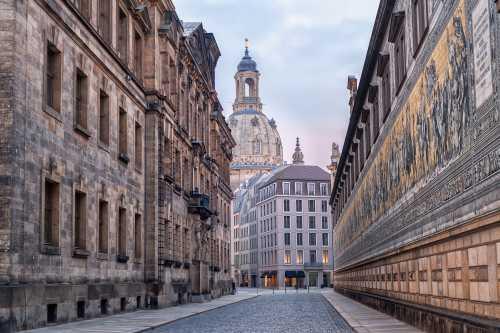 Gruppenausflug und Gruppenticket in Dresden: Dresdener Altstadt (Shutterstock)