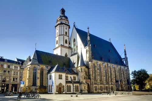 Shutterstock: Leipzig Thomaskirche