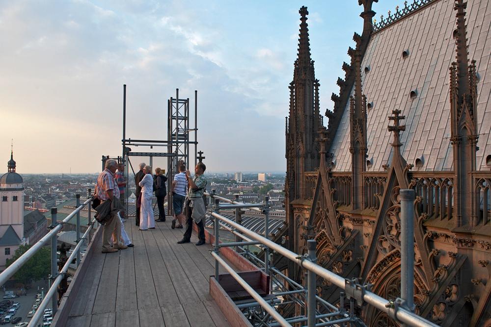 Dombauhuette M. Welschenbach: Kölner Dom Dach