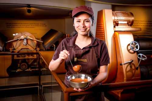 Chocoversum Hamburg chokolade machines new