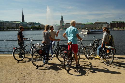 Biketour Hamburg