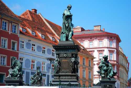 Gruppenausflug und Gruppenticket in Graz: Graz Altstadt (Shutterstock)