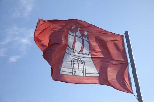 Shutterstock: Hamburg Flagge