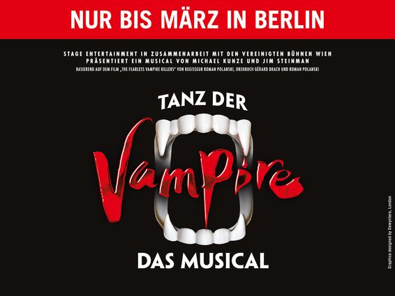 Stage Entertainment: Tanz der Vampire