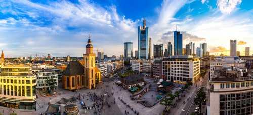 Shutterstock: Frankfurt Stadtansicht