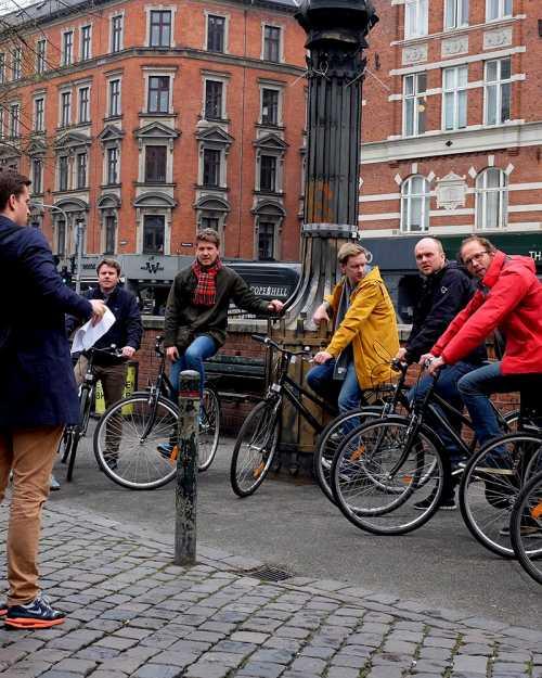 Ideal für Gruppenaktivitäten und Gruppenangebote in Kopenhagen: Fahrrad Tour