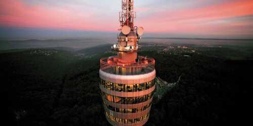 Gruppenausflug und Gruppenticket in Stuttgart: Achim Mende: Fernsehturm Stuttgart