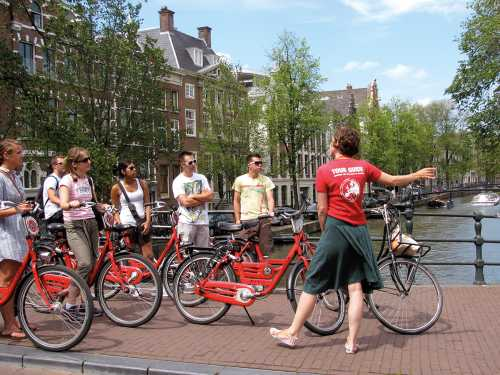 SANDEMANs: Amsterdam Bike Tour