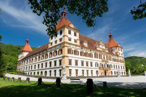 Graz Tourismus Harry Schiffer: Schloss Eggenberg