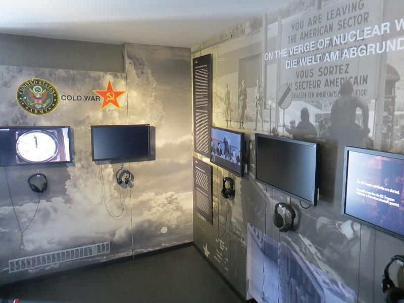 Blick in die Ausstellung The Wall Museum Berlin