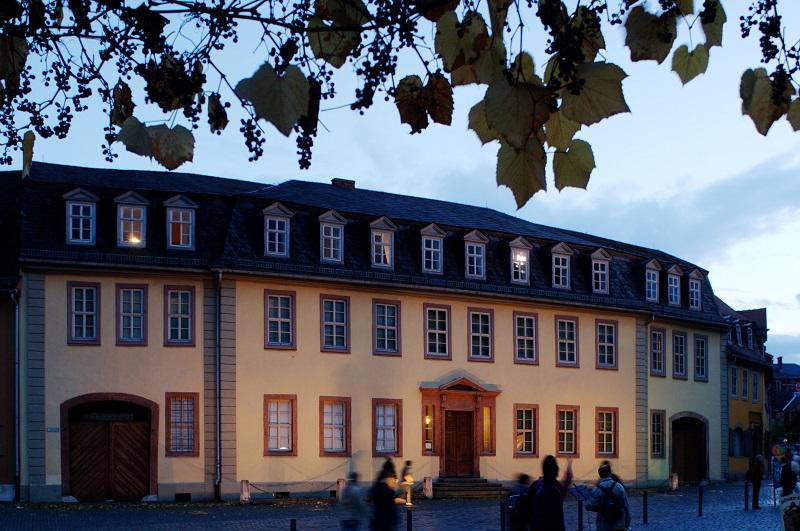 Ideal für Gruppenaktivitäten und Gruppenangebote in Weimar: Goethehaus Weimar