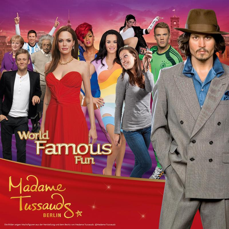 Gruppenausflug und Gruppenticket in Berlin: Merlin Entertainments: Madame Tussauds Berlin