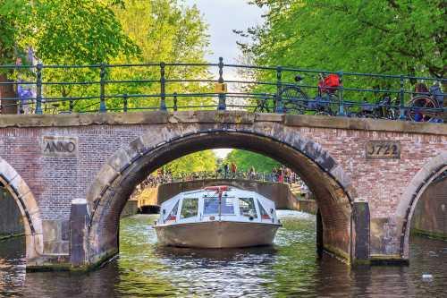 Shutterstock: Grachtenfahrt Amsterdam